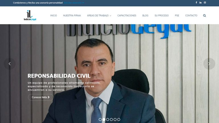 Web Indicio Legal